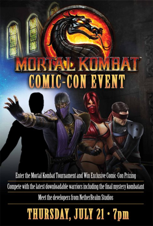 the 4th DLC character for Mortal Kombat | TME covers Comic-con 2011